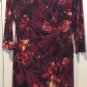 American living fall floral dress